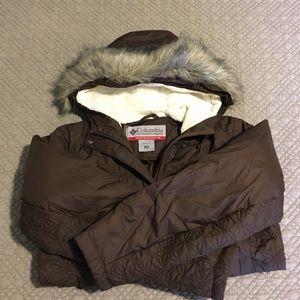 Columbia Sportswear down coat